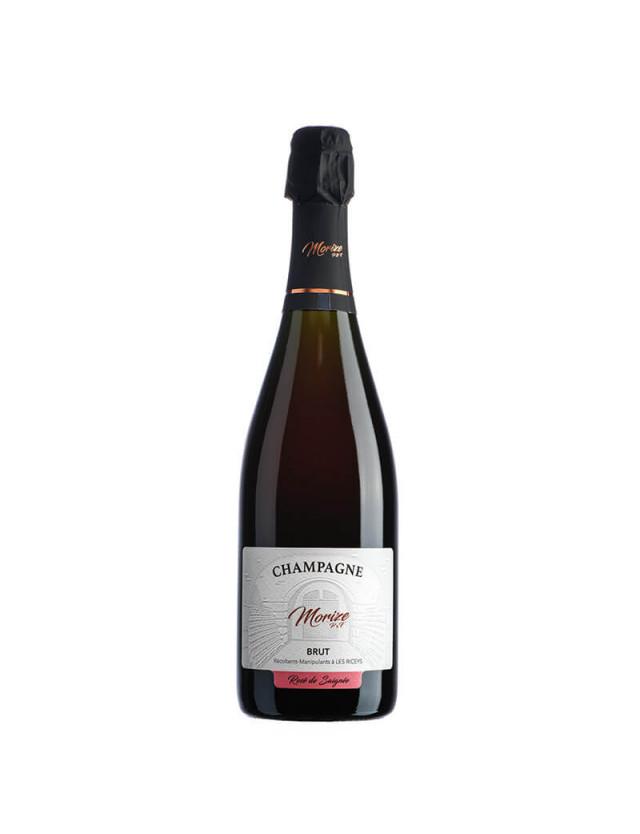 Brut Rosé de Saignée champagne morize père et fils