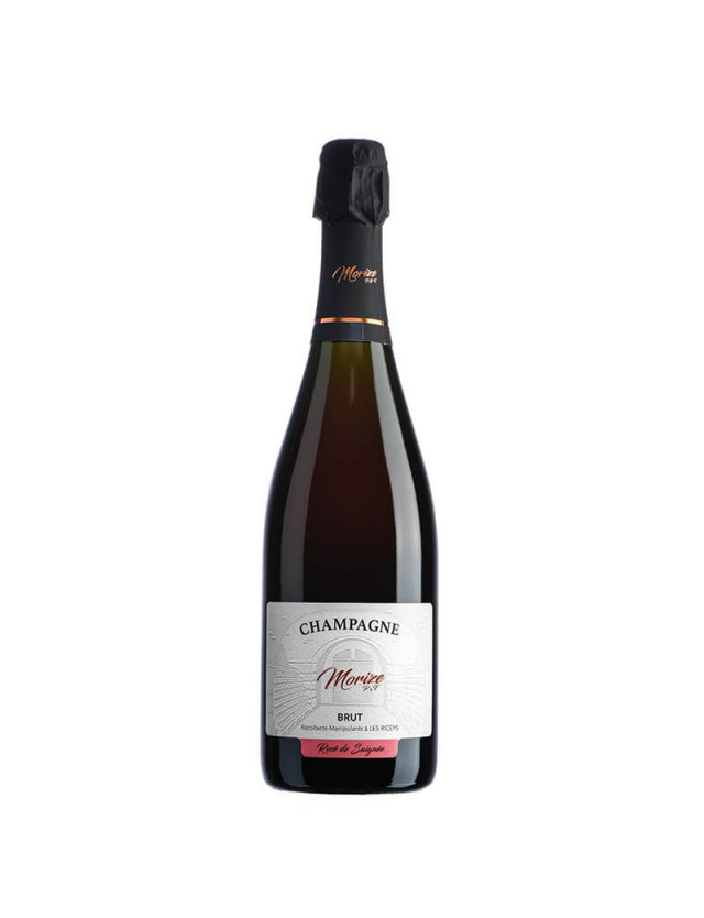 Brut Rosé champagne morize père et fils