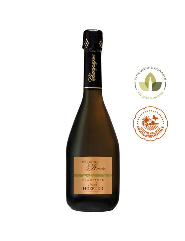 Champagne Intuition Rosée - Rosé de Saignée champagne michel hoerter