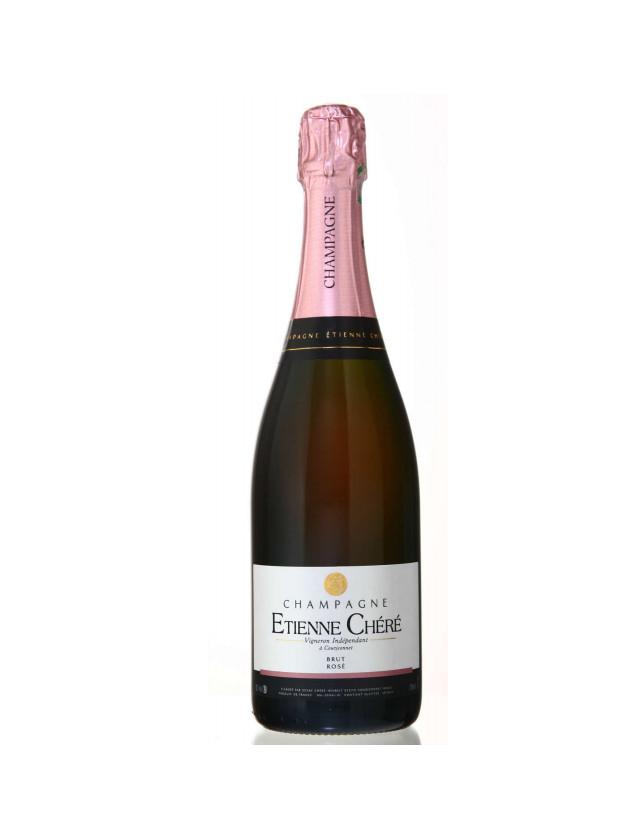 Brut Rosé champagne etienne chéré