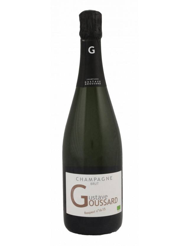 Respect n°16-15 - Brut champagne gustave goussard