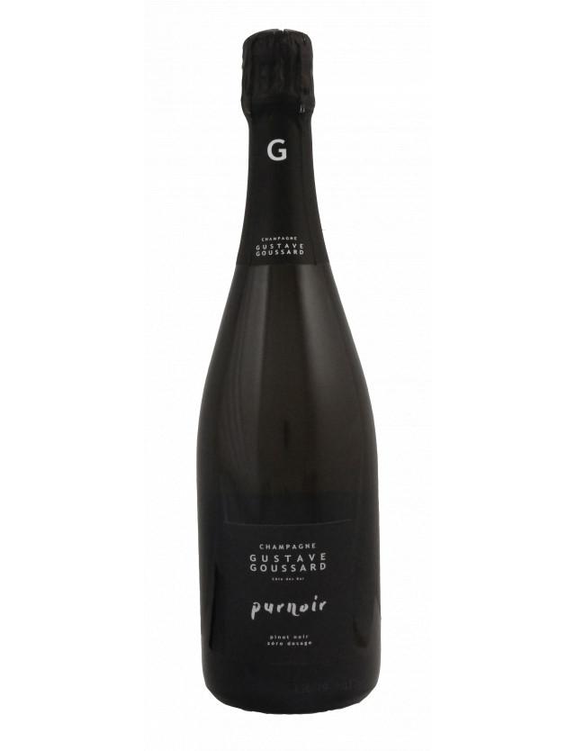 PURNOIR - Zéro Dosage champagne gustave goussard