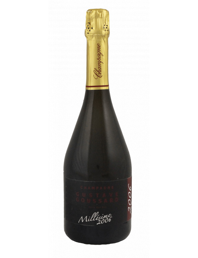 Millésime 2006 - Brut champagne gustave goussard