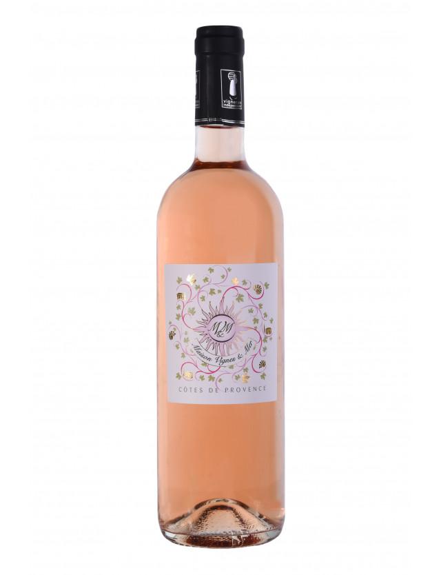 AOP Côtes de Provence Plus maison vignes et mer
