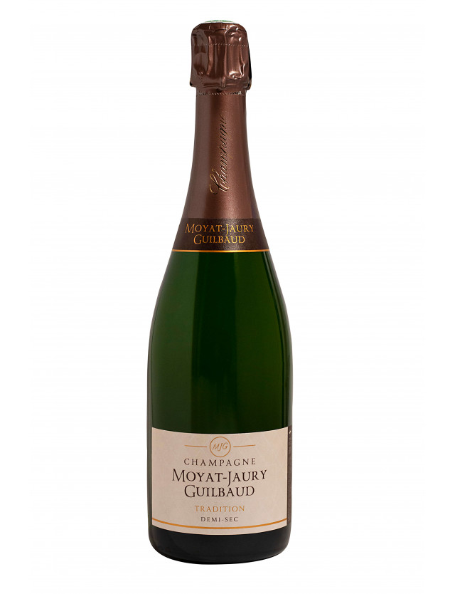 Cuvée tradition DEMI-SEC champagne moyat jaury guilbaud