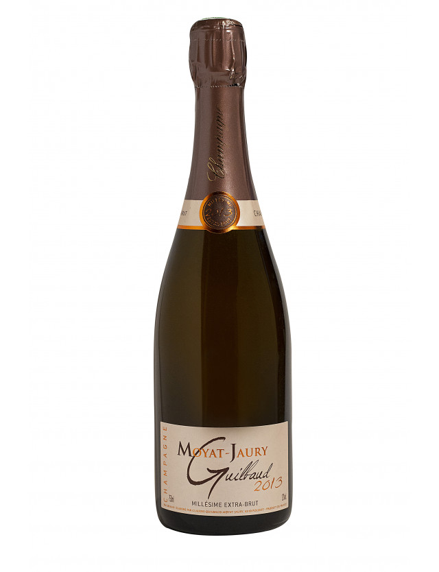 Cuvée millesime 2013 Extra-brut champagne moyat jaury guilbaud