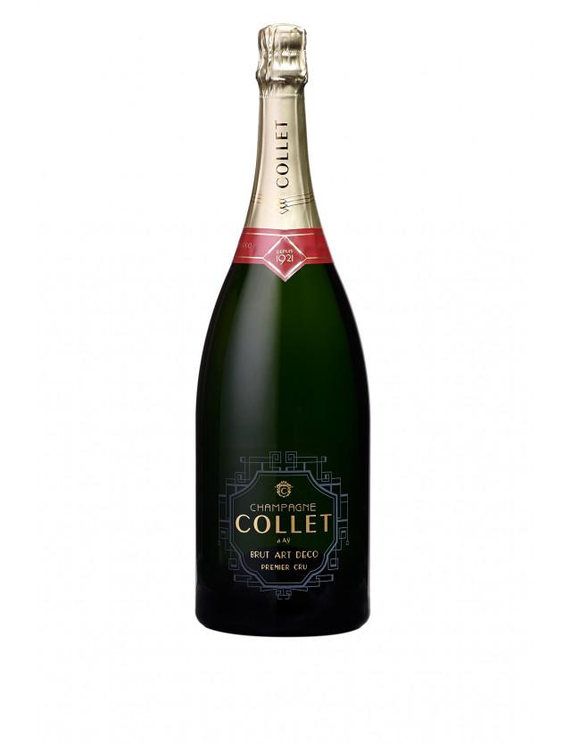 Cuvée Brut Art Déco Premier Cru Magnum champagne collet