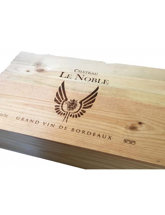 Coffret caisse bois Héritage château le noble