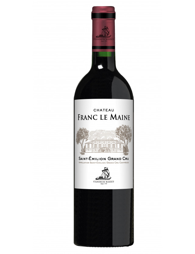 Chateau Franc Le Maine vignobles bardet