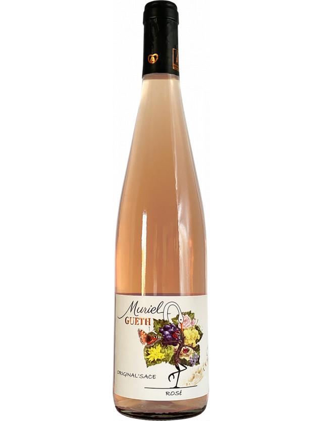 Original'sace Pinot Noir Rosé domaine gueth