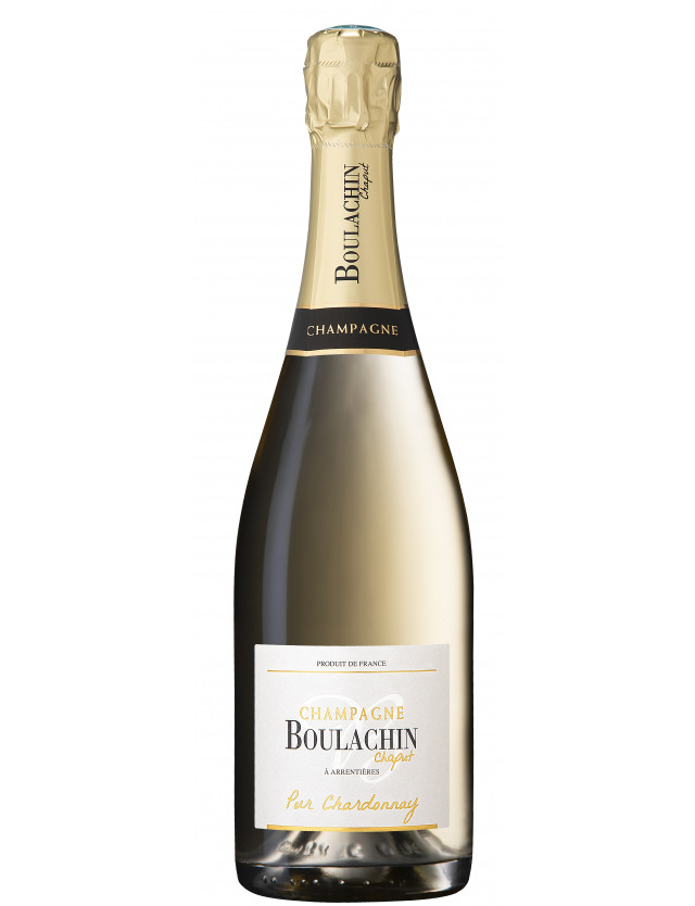 Cuvée Pur Chardonnay champagne boulachin chaput