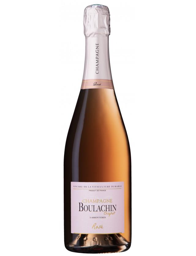 Cuvée Brut rosé champagne boulachin chaput