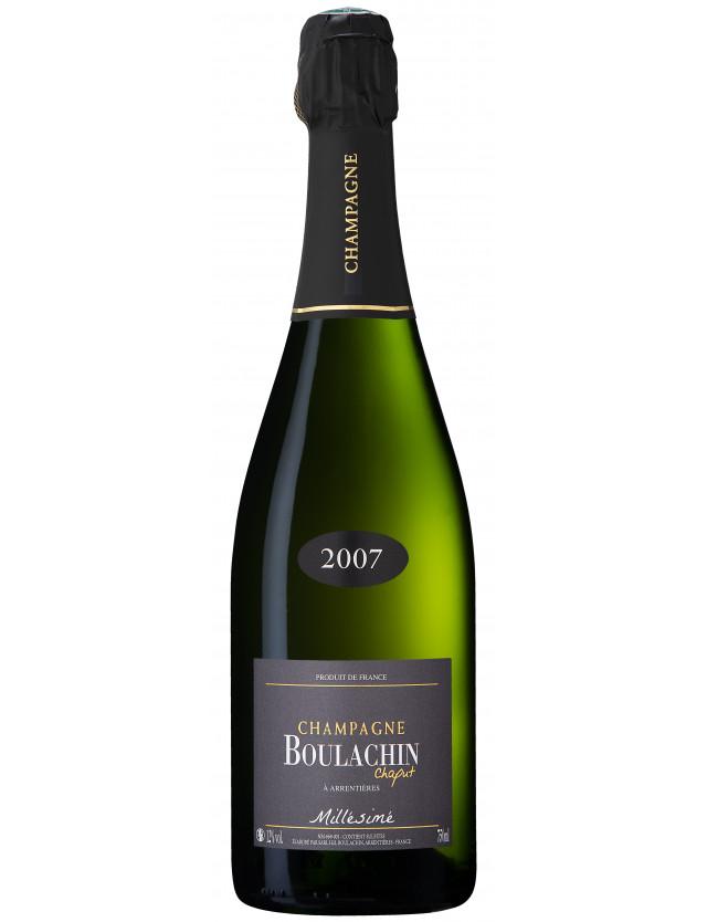 Cuvée Millésimé champagne boulachin chaput