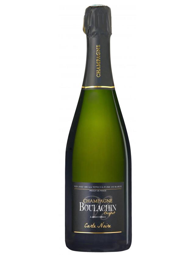 Cuvée Carte Noire champagne boulachin chaput