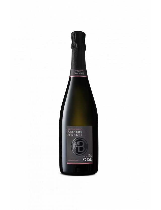 Champagne Brut Rosé Frivolité champagne anthony betouzet