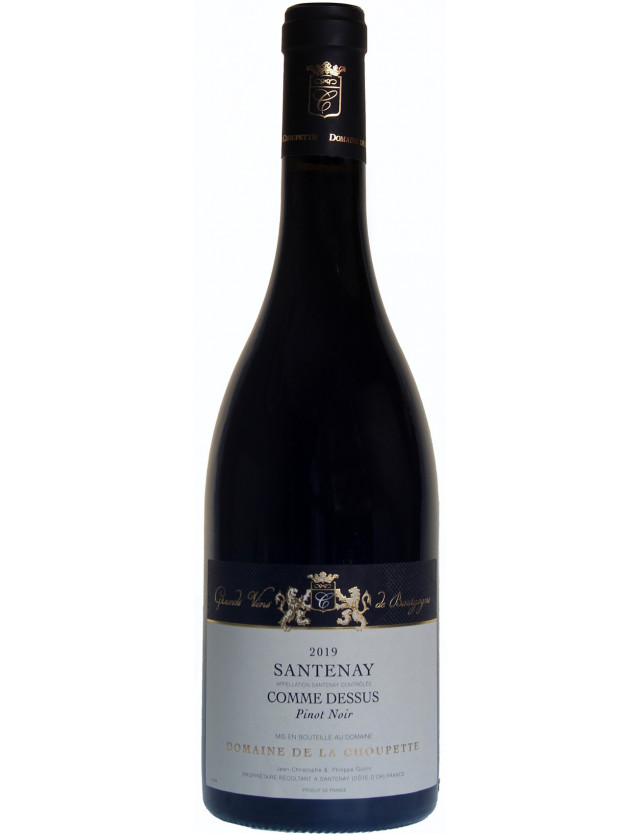 Santenay - Comme Dessus domaine de la choupette