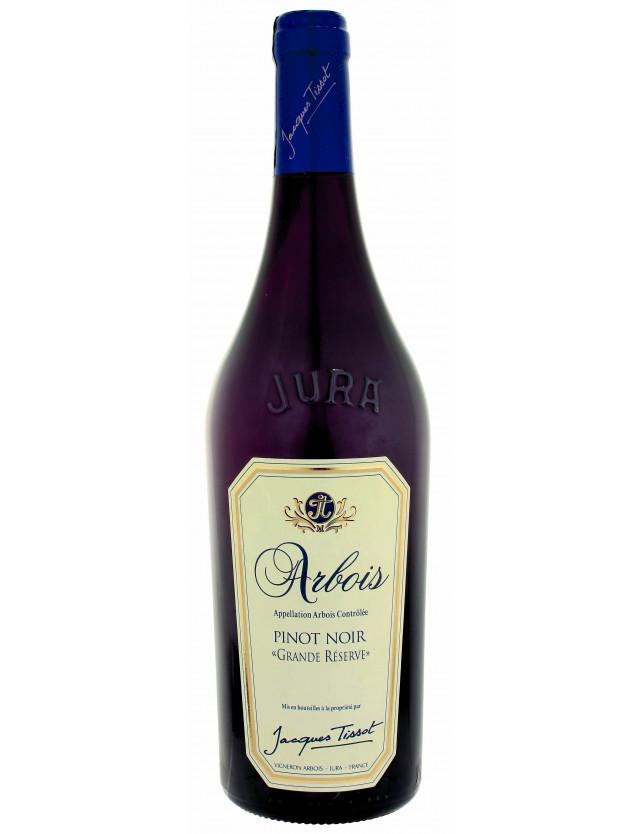 """Arbois Pinot noir """"Grande Réserveé domaine jacques tissot"""