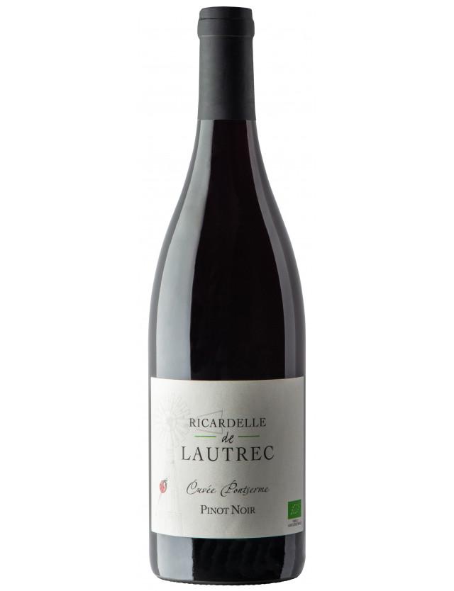 Pontserme Pinot Noir domaine ricardelle de lautrec