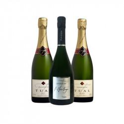 Coffret découverte TUAL Champagne Tual