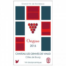Origine 2016 CHATEAU LES GRAVES DE VIAUD