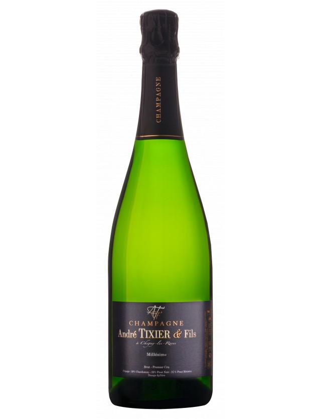 Millésime 2015 champagne andré tixier