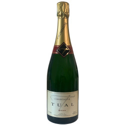 cuvée Reserve Blending Champagne Tual