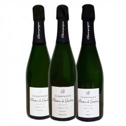 Coffret trio découverte Champagne Beatrix de Gimbres