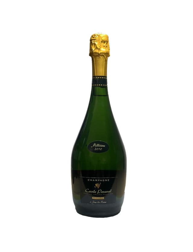 Cuvée Vintage champagne carole perseval
