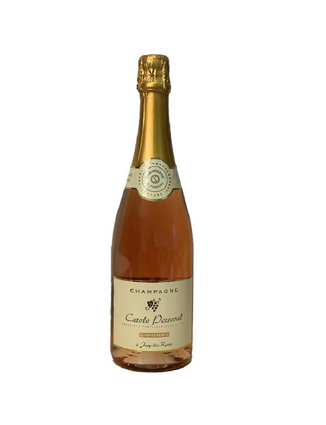 Cuvée Héritage Rosé champagne carole perseval