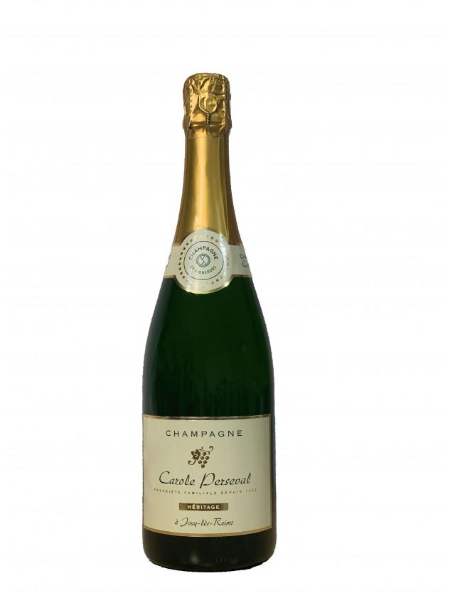Cuvée Héritage champagne carole perseval