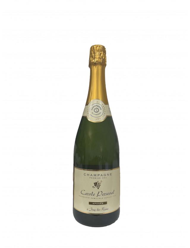 Cuvée Apogée - Brut 1er Cru champagne carole perseval