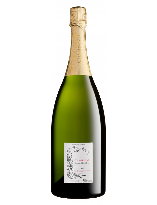 Louis BRIARD, Magnum champagne christian briard