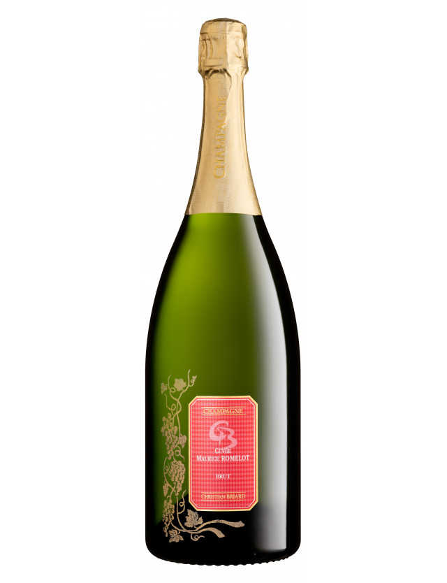 Cuvée Maurice Romelot, Magnum champagne christian briard
