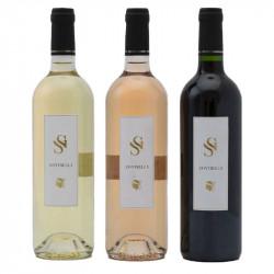 Coffret Contrella 3 bouteilles Domaine San Gavino