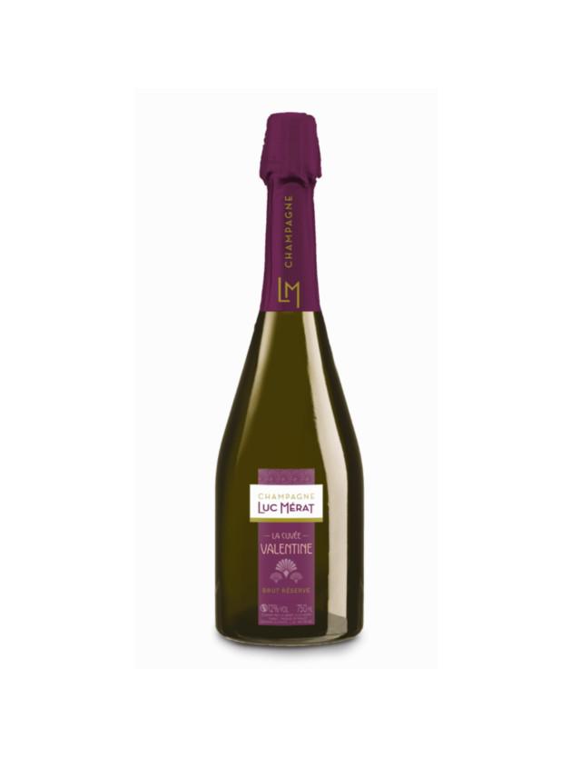 Cuvée Valentine champagne luc merat
