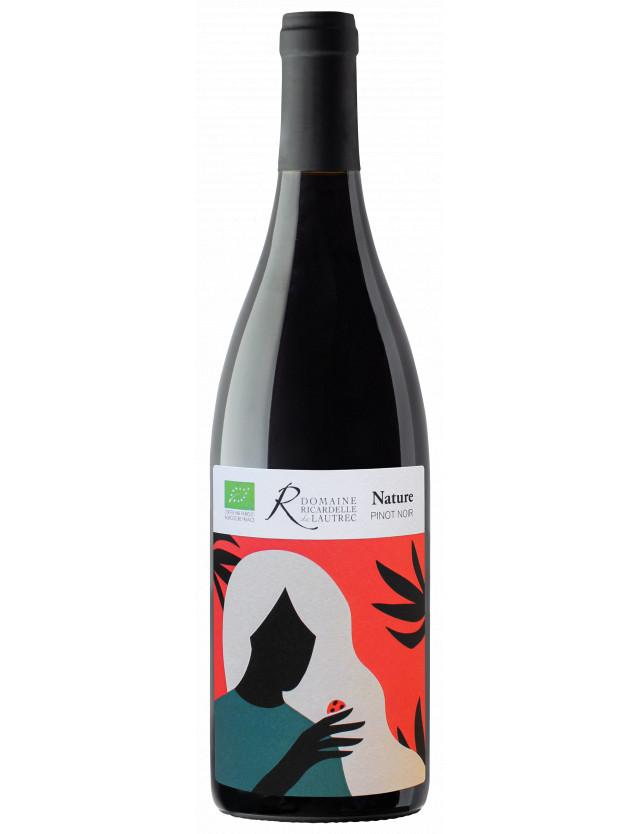 Pinot Noir Nature domaine ricardelle de lautrec