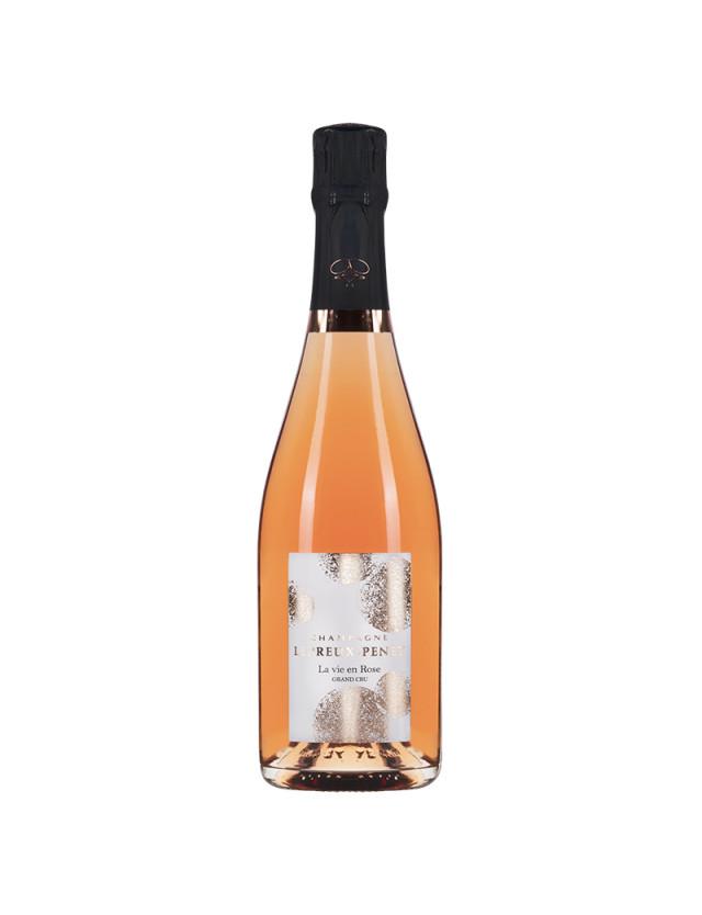 Cuvée La vie en rose champagne lepreux penet