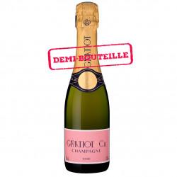 Rosé Demi-Bouteille Blending Champagne Gratiot & Cie