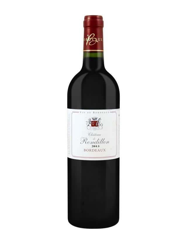 Cuvée Château de Rondillon vignobles bord