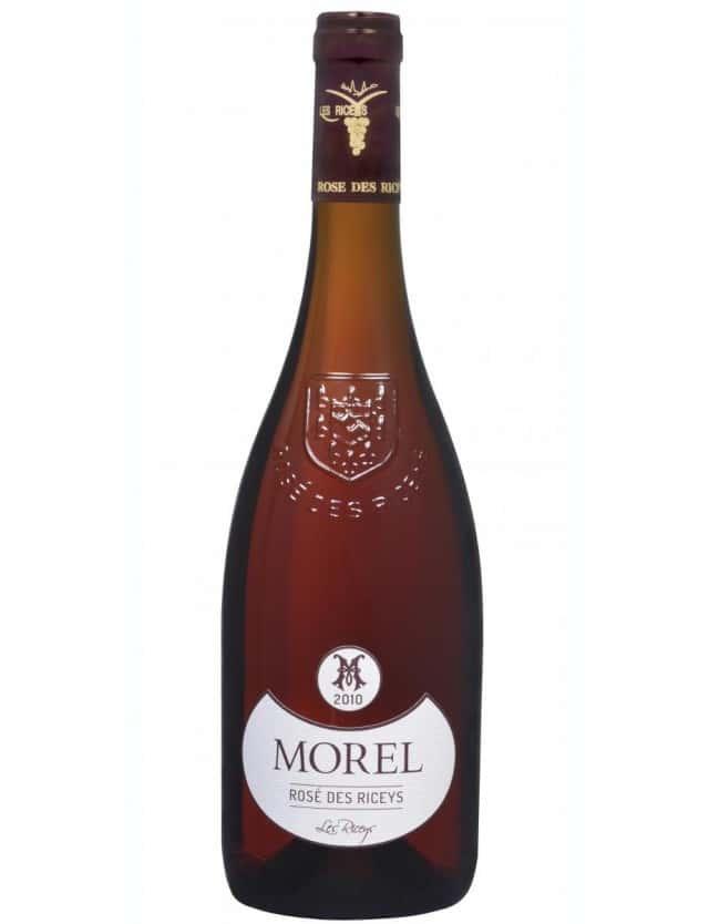 Vin Rosé des Riceys champagne morel