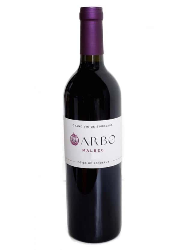ARBO MALBEC 2016 vignobles arbo