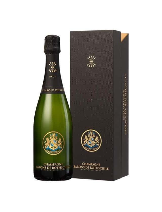 CUVEE BRUT WITH BOX BARONS DE ROTHSCHILD CHAMPAGNE