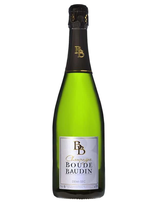 Cuvée Demi-Sec champagne boude baudin