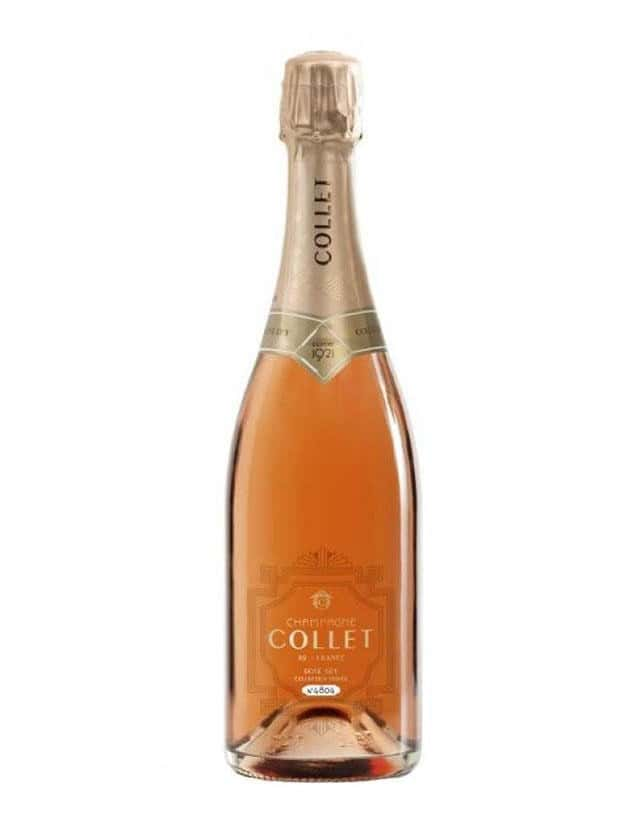 Cuvée Collection Privée Rosé Dry champagne collet