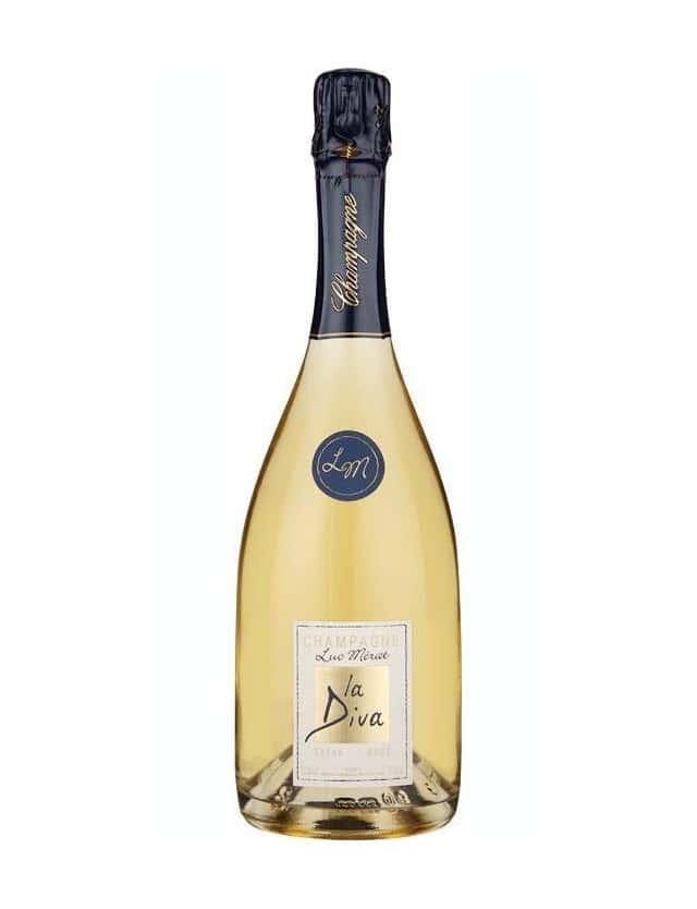 La Diva Extra Brut champagne luc merat