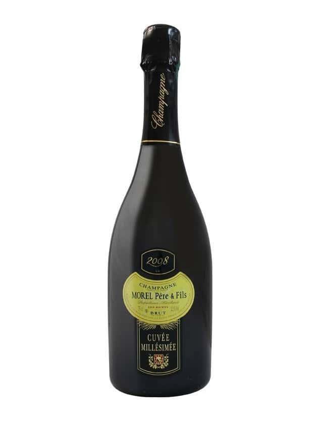 Cuvée Millésimé 2012 champagne morel