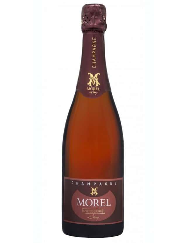Rosé de Saignée champagne morel