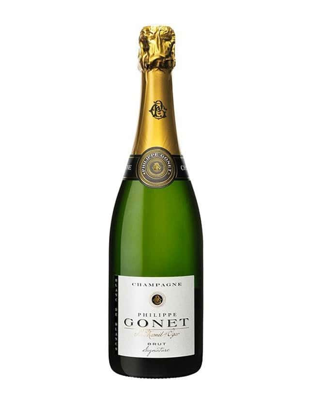 Cuvée Signature Brut Blanc de Blancs champagne philippe gonet