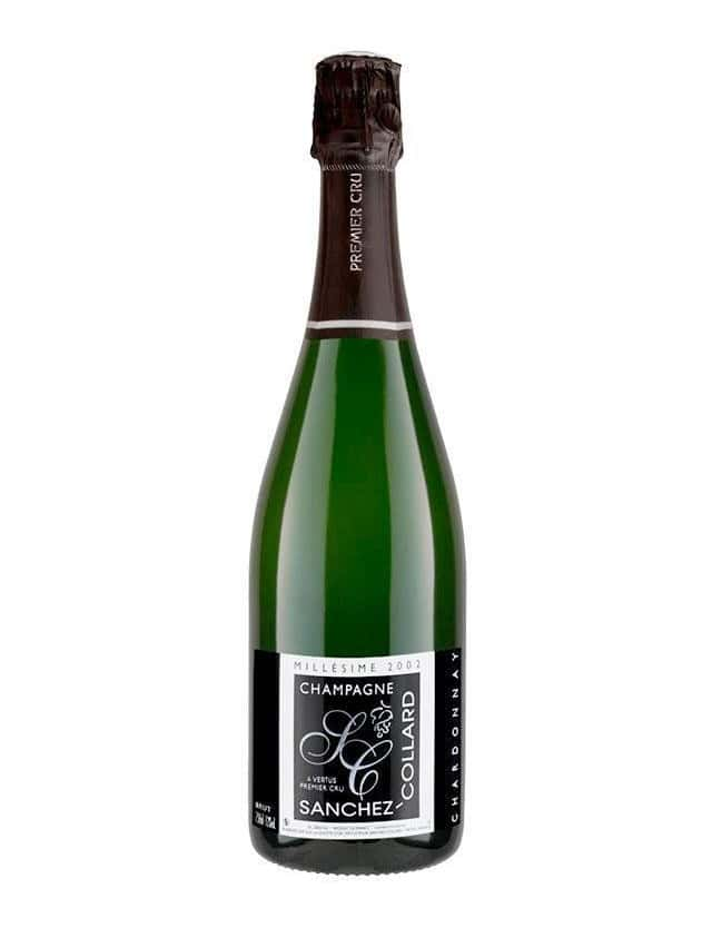 Cuvée BRUT CHARDONNAY MILLESIME 2008 PREMIER CRU champagne sanchez collard