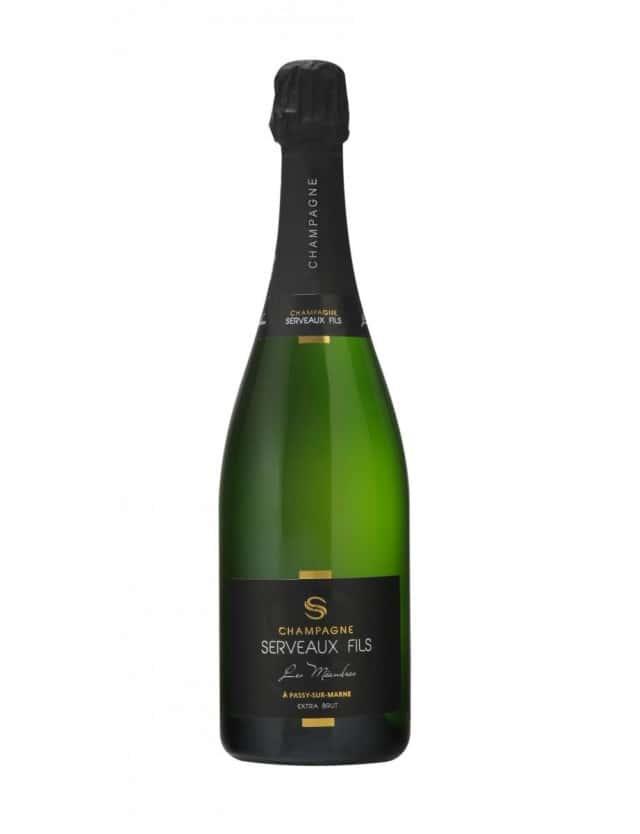 Les Méandres champagne serveaux fils